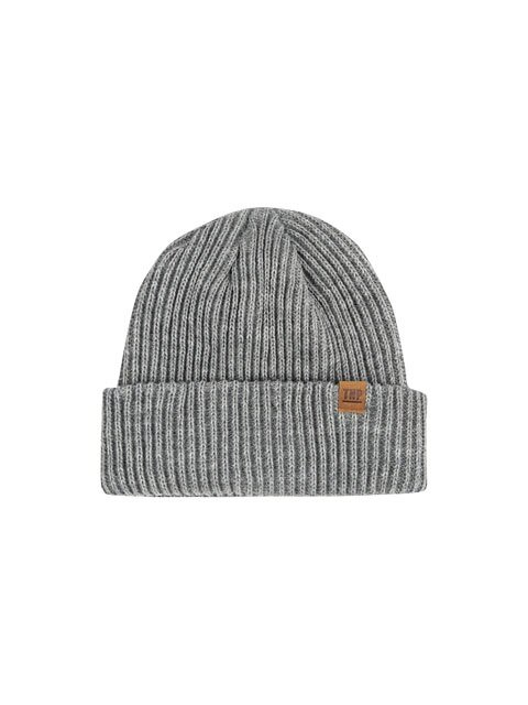 16 F/W OG LABEL BEANIE SERISE - GREY