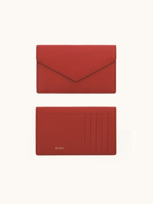 Multi-Card Wallet (Red)
