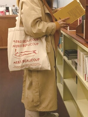 MERCI BEAUCOUP ECO BAG