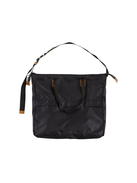 ANDERSSON BIG MASSENGER BAG aaa081m(Black)
