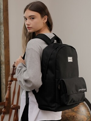 PLUS BACKPACK_BLACK