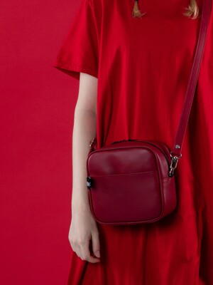 NEMO MINI CROSS BAG MAT RED