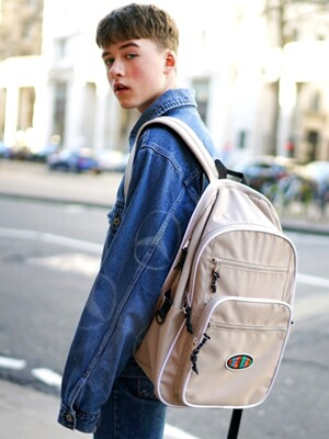 Funky Backpack 백팩-Beige