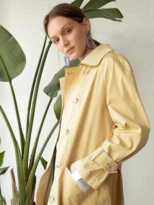 DOR TRENCH COAT YELLOW