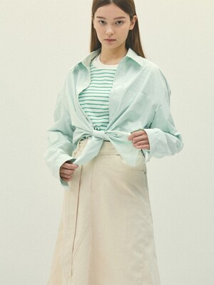 MINTGREEN oversize shirts(IT001)