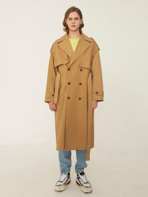 High fusion trench coat Beige