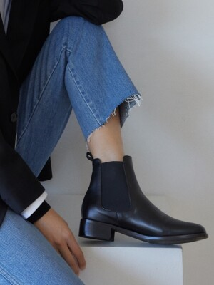 [WOMEN] Chelsea Boot R15w301 (Black)
