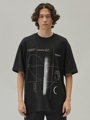 ADD SPACE A TEE BLACK