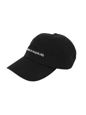 De_co Ballcap_black