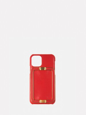 IPHONE 11PRO/11PRO MAX CASE LINEY RED