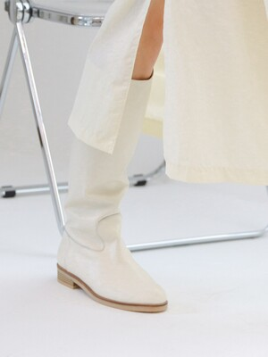 nonum menx long boots_ivory