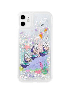 Oysters Under the Sea Glitter Case