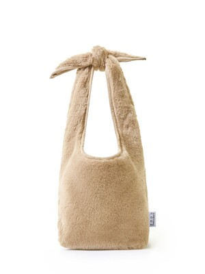 Fluffy Tie Eco Bag -Small