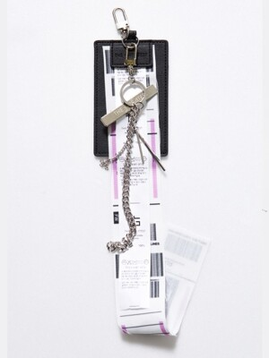 CLIPBOARD CHAIN KEYRING