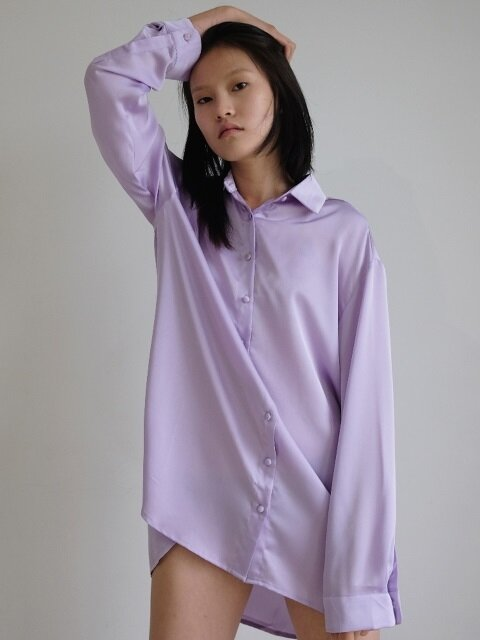 Fantasy Violet Shirt One-piece