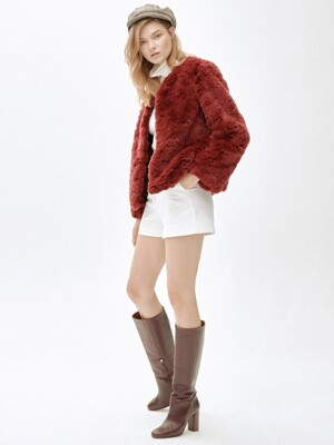 LIZ cocktail jacket [RED]
