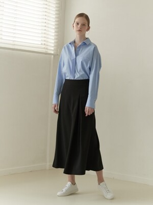 19SN Unbalanced full skirt