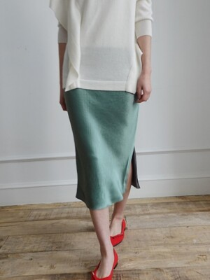 Fluid Skirt #Green