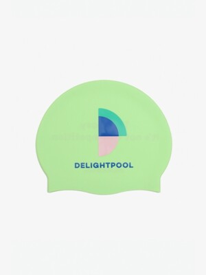 It's Not A Competition Swim Cap - Lime