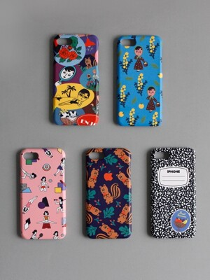 SNAP PHONE CASE 5종 (iPhone/Galaxy)