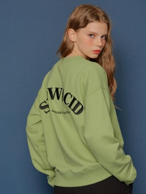 Embossing  Logo Sweatshirt (MINT)