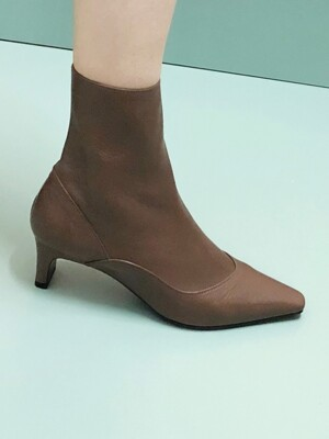 UV SLIM ANKLE BOOTS 5 M-IG-180902 KHAKIBROWN