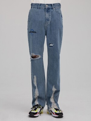 Mes cutting jeans Blue
