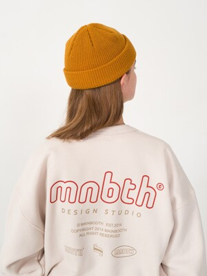 9F MNBTH Sweatshirt_LIGHT BEIGE