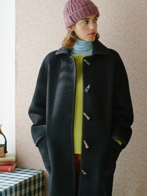 duffle pocket suri coat