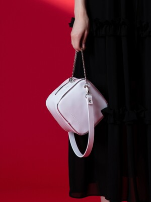 CUTO chain shoulder bag (white)