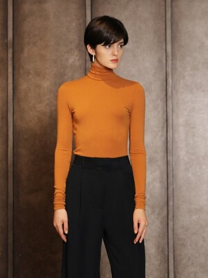 Woolpola t-shirts_Orange