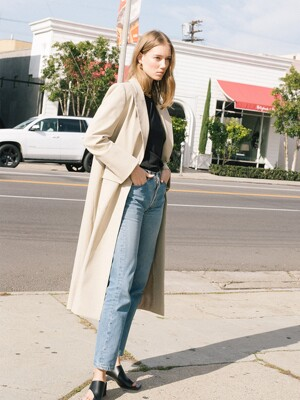 [20SS]BURBANK oversized single button coat (Oatmeal)