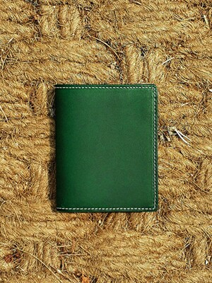 Italian Vegetable Basic Wallet Stitch Green