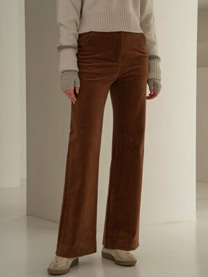 SI PT 7013 80s Corduroy Pants_Brown