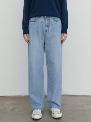 MIDNIGHT LIGHT DENIM PANTS