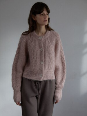 MORE THAN CARDIGAN (LILAC PINK)