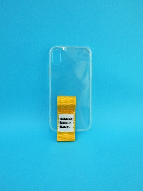 SUN CASE FINGER CLEAR YELLOW (JELLY CASE)
