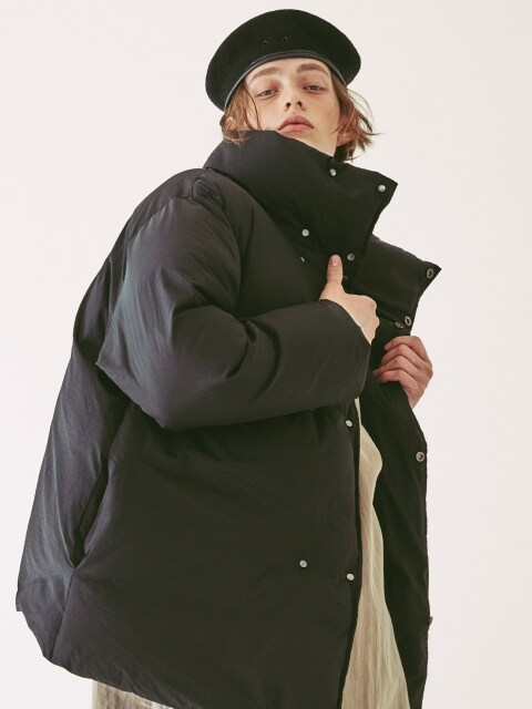 Duck Down Double Jacket Black