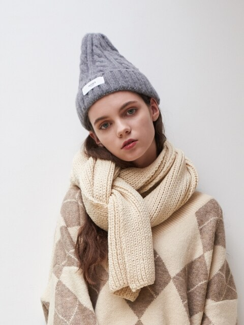 Saintes Knit Muffler (4color)