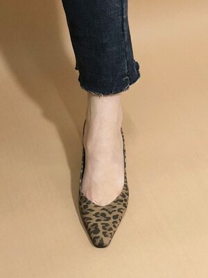 V PUMPS 6 M-IG-180806-2 LEOPARD BROWN