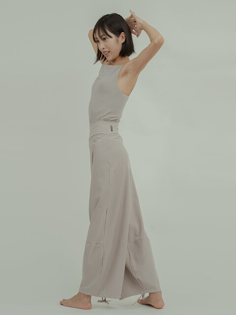 oblique pants-3colors