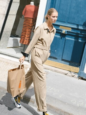 SAINT-HONORE jumpsuit_Beige