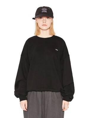 LIFUL BOX LOGO SWEATSHIRT black
