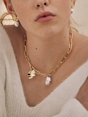 'Gold mood' Collection 02, Necklace
