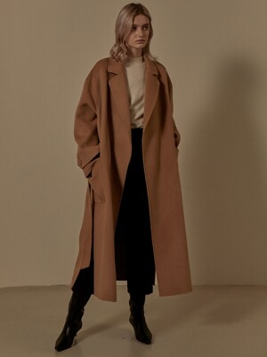 Cashmere Handmade Oversized Coat SW9WC001-92