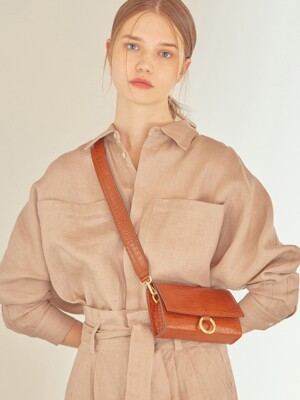 nina bag - camel embo