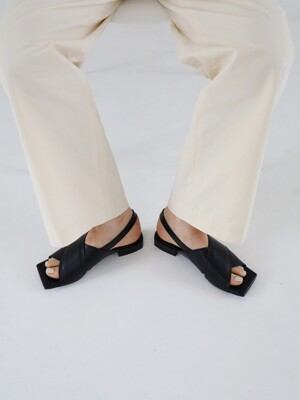 jerry sandal - black