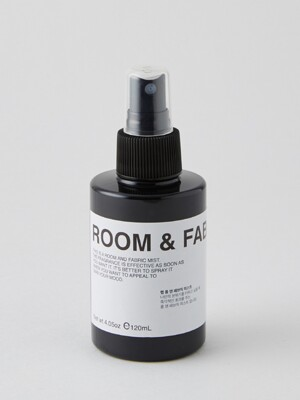 room and fabric mist AMBER LAVENDER