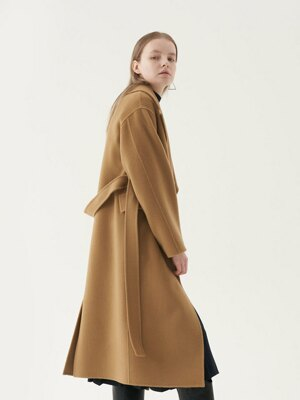 20' Fall_handmade Belted Wool Coat