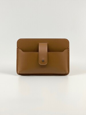 CUBICLE CARD CASE_CARAMEL